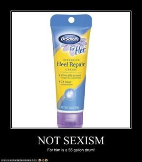 NOT SEXISM