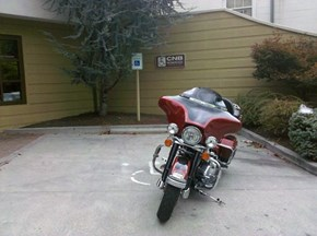 Handicap Motorcycle Fail
