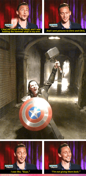 I am Burdened With a Glorious Props Department!