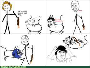 Cat Toy RAGE!