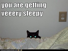 you are getting veeery sleepy