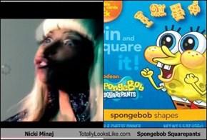 Nicki Minaj Totally Looks Like Spongebob Squarepants