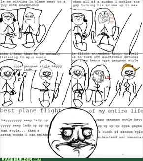epic Gangnam style win