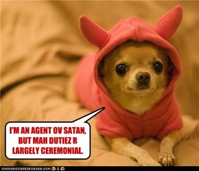 I'M HORNY LIL DEVIL.
