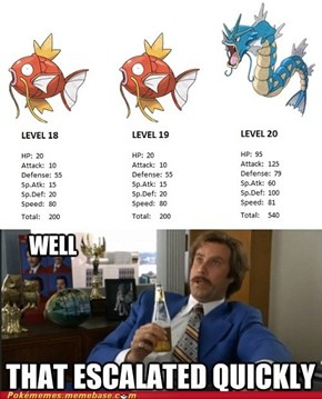 Gyarados Escalates Quickly