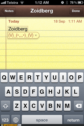 Need an Emoticon? Why Not Zoidberg?