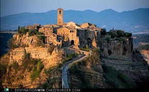 Go Back in Time at Civita, Lazio, Italy