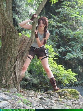 Lara Croft - Elf Fantasy Fair 2012