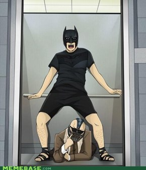 Oppa Batman Style!