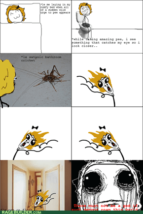 bathroom creatures