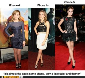 If Only My iPhone Were More Like Emma Watson...