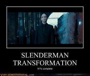 SLENDERMAN TRANSFORMATION