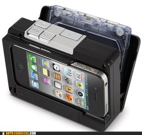 Who WOULDN'T Want Their iPhone on a Cassette?