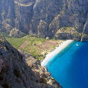 The Butterfly Valley of Fethiye, Turkey