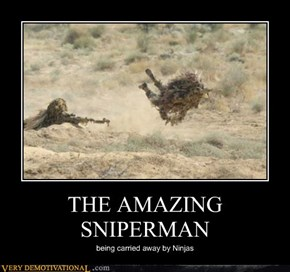 THE AMAZING SNIPERMAN
