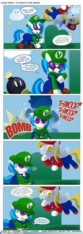 It's the Mario Bros.,sort of...