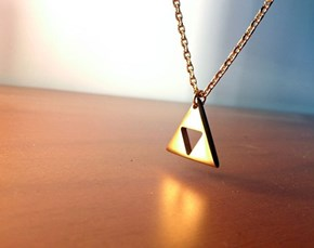 Triforce Necklace WIN