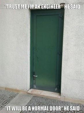 Door Design FAIL