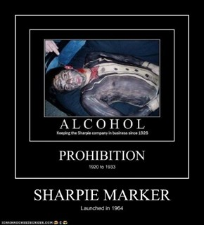SHARPIE MARKER