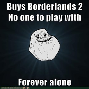 Buys Borderlands 2 No one to play with  Forever alone