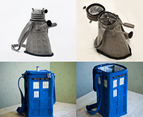 Shut Up and Take My Money So I Can Put My Money in These Dr. Who Purses!