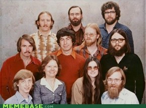 Microsoft's 1978 Company Photo