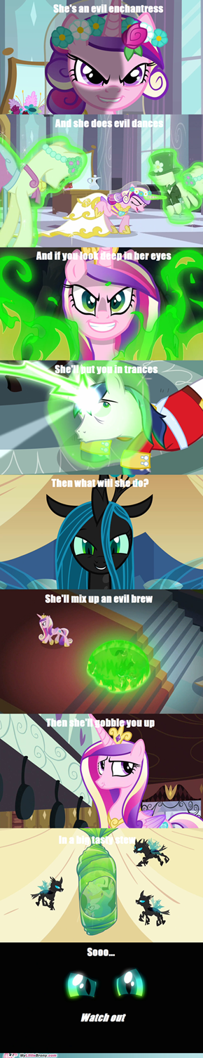 Evil Enchantress Chrysalis