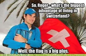 ICWUDT, Roger Federer