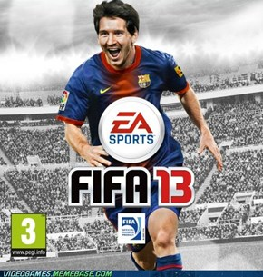 Actual FIFA soccer 13 cover art