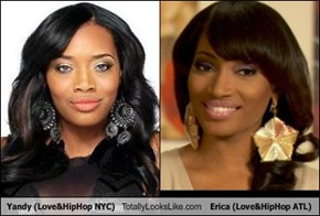 Yandy (Love&HipHop NYC) Totally Looks Like Erica (Love&HipHop ATL)