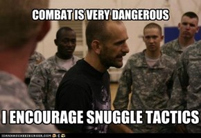 COMBAT IS VERY DANGEROUS