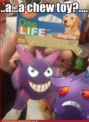 A chew toy?...