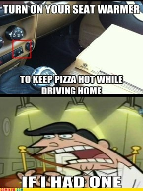 Cold Pizza is Better Anyway