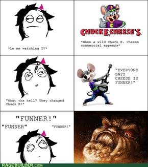 Chuck E Grammar Rage
