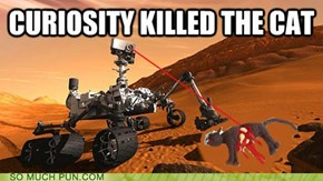 there WAS life on Mars but...