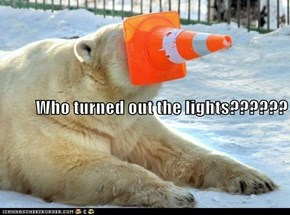 Who turned out the lights??????