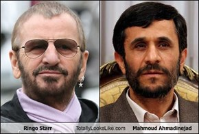 Ringo Starr Totally Looks Like Mahmoud Ahmadinejad