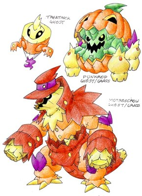 Halloween Pokemon