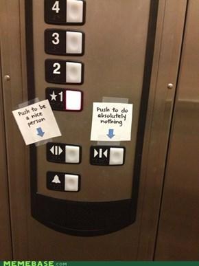 Elevator Labels