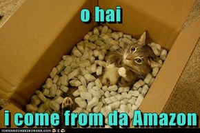 o hai  i come from da Amazon