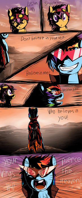 Believe in who believes in you!