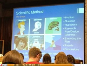 "How My Professor Teaches ""Scientific Method"""