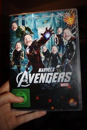 Avengers Blu-Ray Cover: LOKI'D!