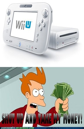 Man, I can't wait for the Wii U to come out!