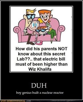 It's Dexter ... DUH