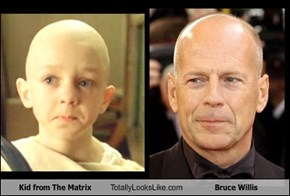 Kid from The Matrix Totally Looks Like Bruce Willis