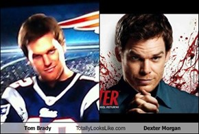 Tom Brady Totally Looks Like Dexter Morgan