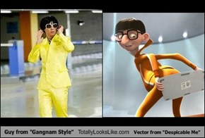 "Guy from ""Gangnam Style"" Totally Looks Like Vector from ""Despicable Me"""