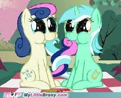 Lyra and Bonbon together forever