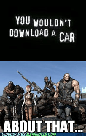 Piracy in Borderlands